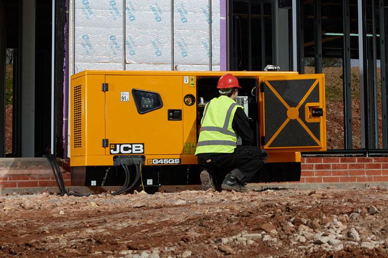 20-45kVA JCB Generator