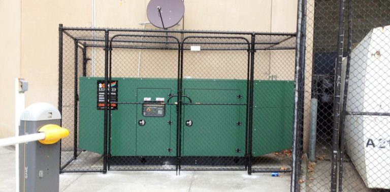 100kVA natural gas powered generator
