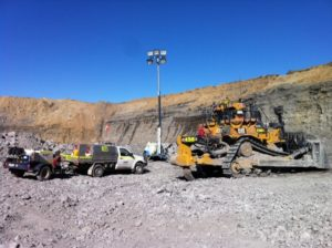 Southern Generators and Electrical are providing 24-hour diesel powered lighting towers to an open-cut mine in Ravensworth