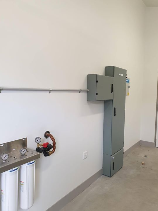 manual transfer switches for medical facility in victoria
