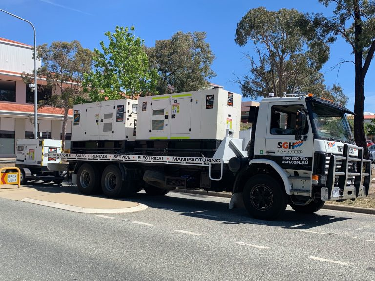 canberra truck added to fleet