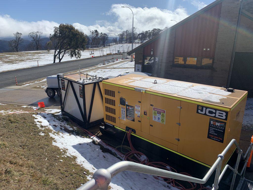 snowy mountains generator alpine