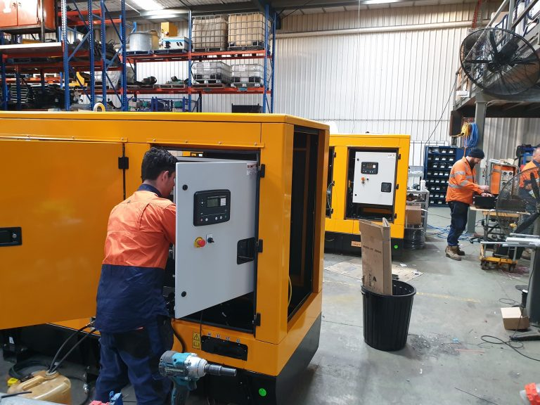 How important is it to regularly service your diesel generator set